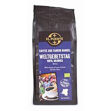 Bio-Kaffee zum Weltgebetstag,