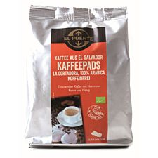 La Cortadora Bio-Kaffeepads entkoffeiniert