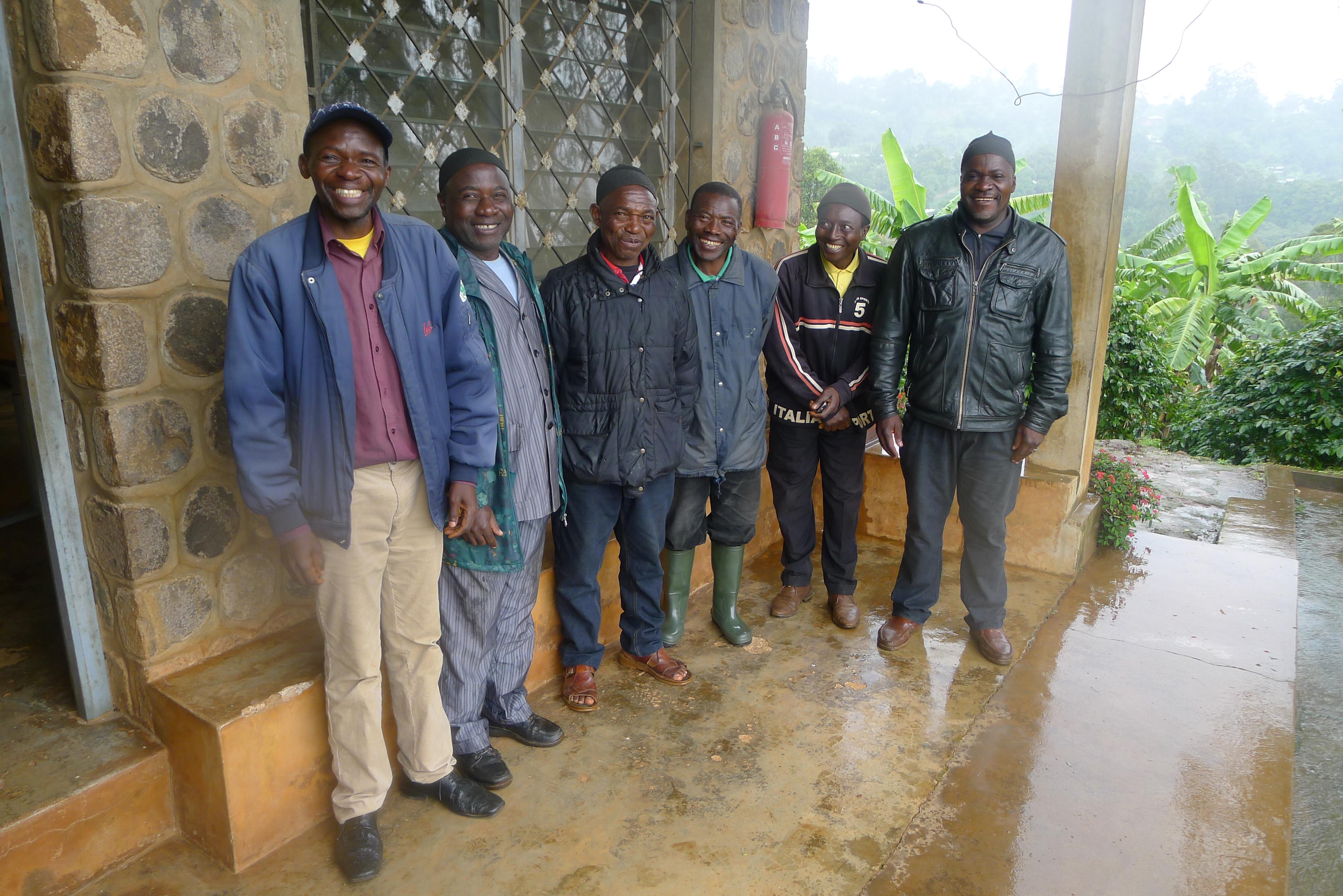 Kamerunische Kaffeeproduzenten 2